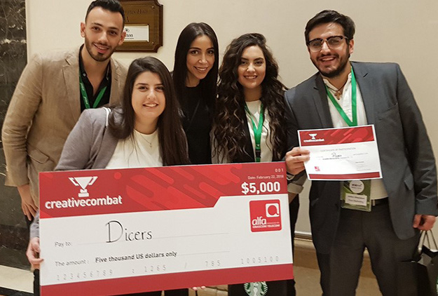 "Arabnet 2018 – First Winners Creative Combat ""حلو كتير"""